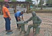 Praça Vinícius de Moraes é interditada nesta sexta   Divulgação   Desal