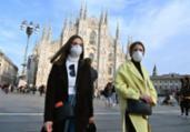 Itália: novos casos de Covid-19 sobem pelo segundo dia   AFP