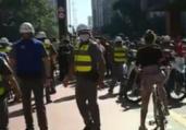 Ato pró-democracia tem confronto em SP | Reprodução | GloboNews