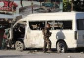 Funcionários de canal de TV morrem em atentado | STR | AFP