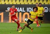 Bayer derrota Borussia e dispara no campeonato alemão | Federico Gambarini | POOL | AFP