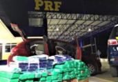 Motorista de aplicativo é preso com drogas na BR-116 | Divulgação | PRF