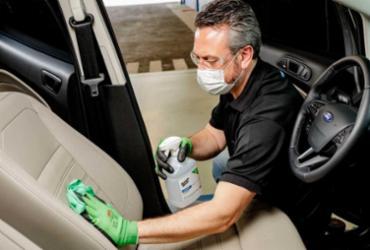 Ford lança serviço de desinfecção do carro