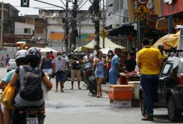 Mesmo com avanço do vírus, isolamento social cai no estado | Rafael Martins | Ag. A TARDE