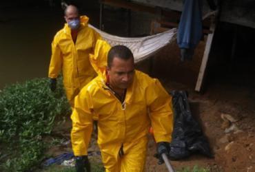 Corpo encontrado em córrego na Av. Jorge Amado pode ser de adolescente desaparecido | Divulgação | Corpo de Bombeiros