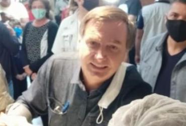Bolsonaro provoca aglomeração durante visita a cidade goiana | Reprodução | TV Anhanguera