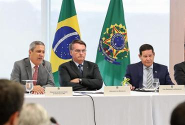 Em reunião, Bolsonaro faz pressão sobre órgãos de inteligência e xinga governadores | Divulgação | Agência Brasil