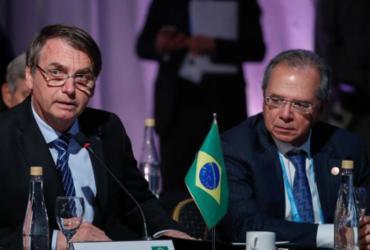 """Se brigar a bordo, o barco naufraga"", diz Paulo Guedes sobre Bolsonaro e STF | Alan Santos | PR"
