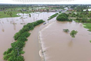 Conde, Entre Rios e Cardeal da Silva ainda sofrem com as consequências do transbordamento de rios