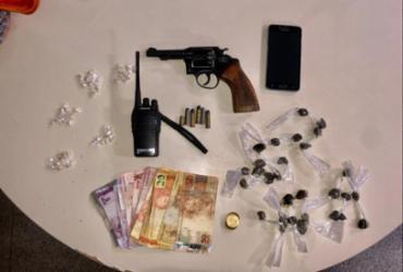 Homem morre em confronto com a PM em Paripe; arma e drogas são apreendidas | Divulgação | SSP