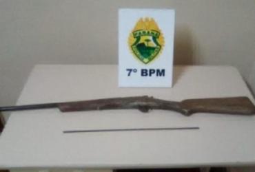 Menino de 9 anos mata irmã de 7 com tiros de arma artesanal no Paraná | Divulgação | PM