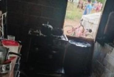 Criança morre após explosão de botijão de gás em Brumado | Reprodução