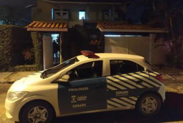 Festa com bebidas, drogas e som alto é interrompida por policia em Vilas do Atlântico | Divulgação SSP