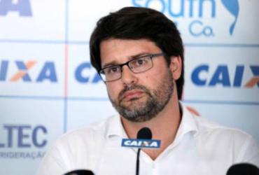 Bellintani fala em 'ano de sobrevivência' e relembra dívida alta deixada por gestões anteriores | Felipe Oliveira | EC Bahia