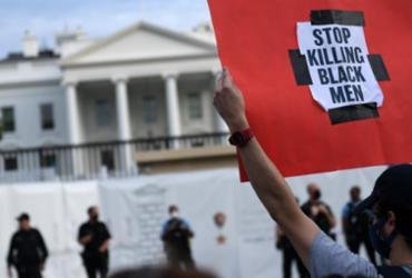 Protestos por morte de homem negro pela polícia chegam à Casa Branca | Eric Baradat | AFP