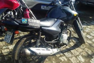 Homem é preso com motocicleta roubada em Itamaraju