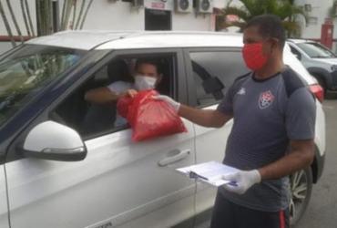 Vitória distribui kits para treinamento domiciliar | Reprodução | Redes Sociais
