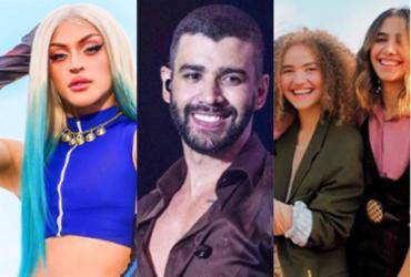 Lives do final de semana contam com Anavitória, Pabllo Vittar e Gusttavo Lima | Reprodução