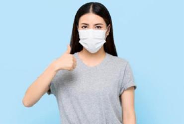 Máscaras caseiras de algodão são eficazes na proteção, diz estudo internacional | Reprodução | Freepik