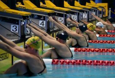 Campeonato Pan-Pacífico de natação é transferido de 2022 para 2026 | Martin Bureau | AFP