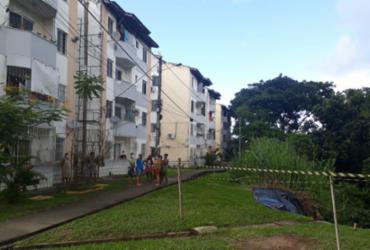 Cratera em condomínio na Boca da Mata não danificou estrutura de prédios, diz Codesal | Divulgação | Codesal