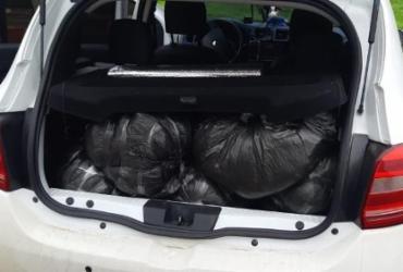 Homem é preso com 40kg de maconha na BR-324 | Divulgação | SSP