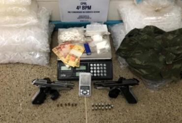 Suspeito de tráfico de drogas é preso em Alagoinhas | Divulgação | SSP-BA