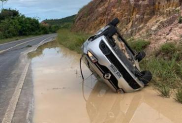 Forrozeiro Targino Gondim sofre acidente na Linha Verde | Reprodução | Carlos Britto