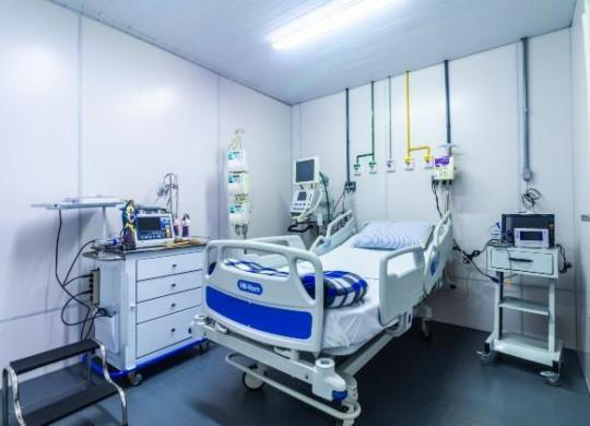 Hospital Sagrada Família é reaberto com leitos exclusivos para covid-19 | Igor Santos | PMS