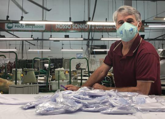 Empresas adaptam produção por conta da pandemia | Matheus Campos | Divulgação