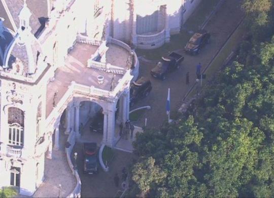 PF deflagra operação e faz buscas na residência oficial do governador Wilson Witzel | Reprodução