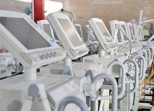 Bahia recebe 219 novos respiradores em uma semana | USP Imagens