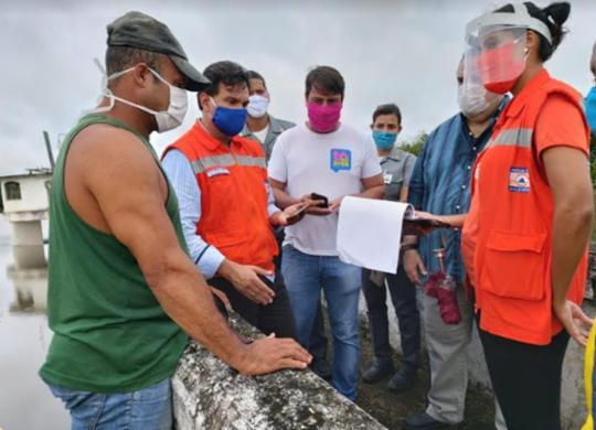 Marinha descarta risco de rompimento da Barragem dos Macacos   Divulgação   Secom