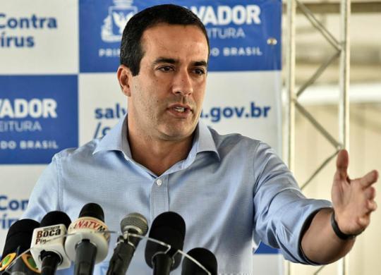 Bruno Reis garante que Carnaval só acontece com aprovação de vacina | Max Haack | Secom