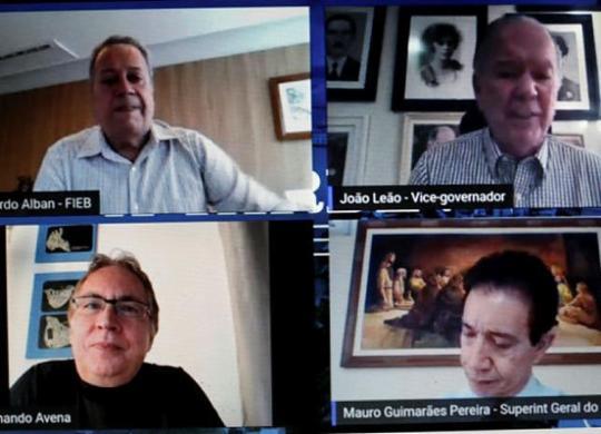 Desafios da indústria baiana no pós-pandemia são discutidos no A TARDE Conecta | Raphael Müller | Ag. A TARDE
