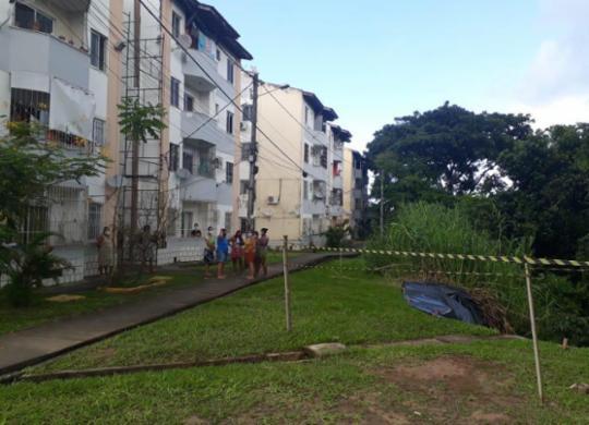 Cratera em condomínio não danificou estrutura de imóveis, diz Codesal | Divulgação | Codesal