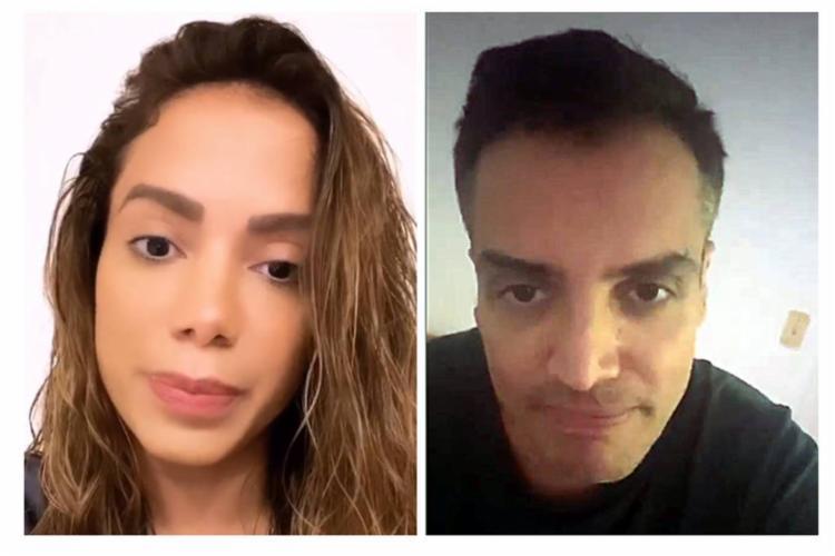 Cantora se pronunciou nas redes sociais afirmando que era chantageada pelo jornalista | Foto: Reprodução | F5 - Foto: Reprodução | F5