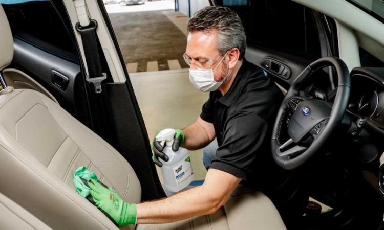 Ford lança serviço especial de desinfecção de veículos novos e usados e padroniza processos de prevenção à Covid-19 | Foto: Divulgação - Foto: Divulgação