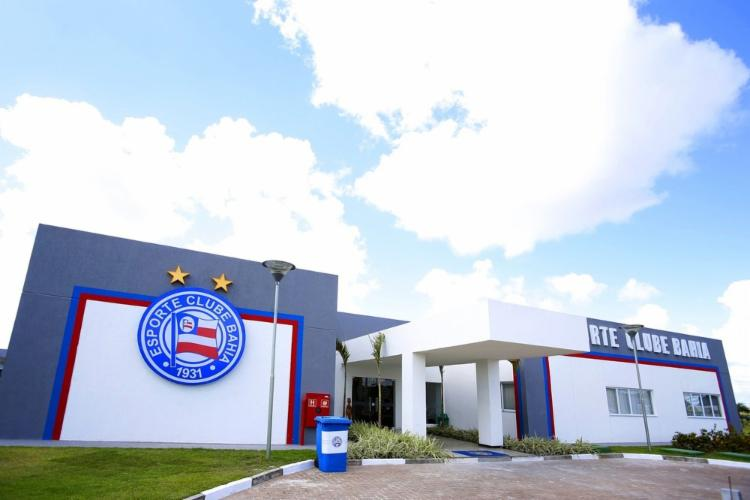 Monumento será construído no Centro de Treinamento Evaristo de Macedo | Foto: Felipe Oliveira | E.C. Bahia - Foto: Felipe Oliveira | E.C. Bahia