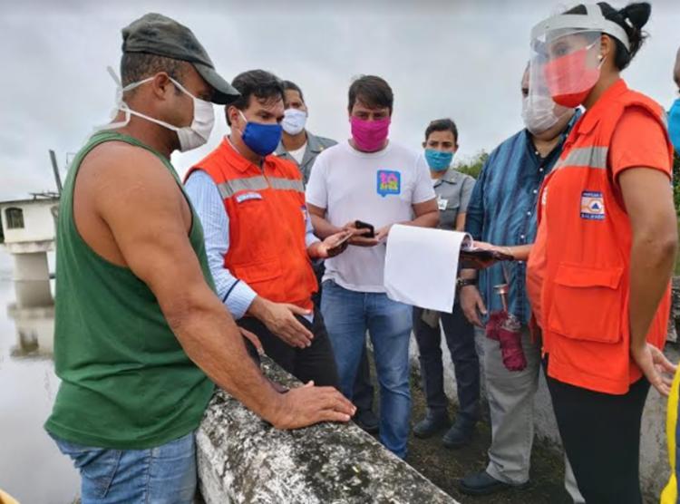 Codesal havia solicitado intervenções no local após denúncia de moradores - Foto: Divulgação   Secom