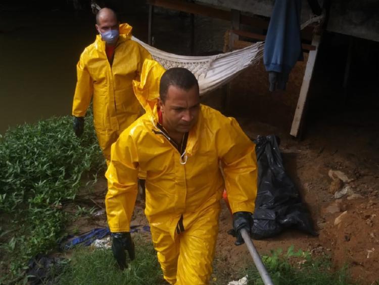 Garoto está desaparecido desde quinta-feira, 21   Foto: Divulgação   Corpo de Bombeiros - Foto: Divulgação   Corpo de Bombeiros