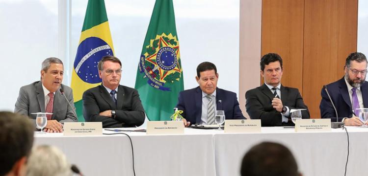 Vídeo de reunião ministerial foi liberado por decisão do ministro do STF, Celso de Mello - Foto: Divulgação | Agência Brasil