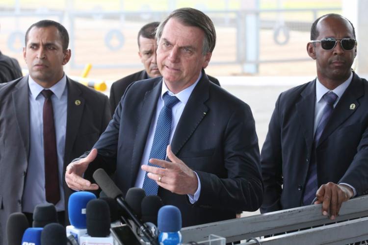 Bolsonaro ainda negou que tivesse assinado um decreto para ampliar as lista de atividades essenciais   Foto: Arquivo   Agência Brasil - Foto: Arquivo   Agência Brasil