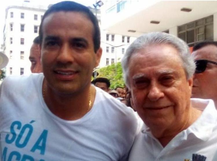 Pesquisa aponta Bruno Reis (esquerda) na frente dos resultados das eleições - Foto: Divulgação