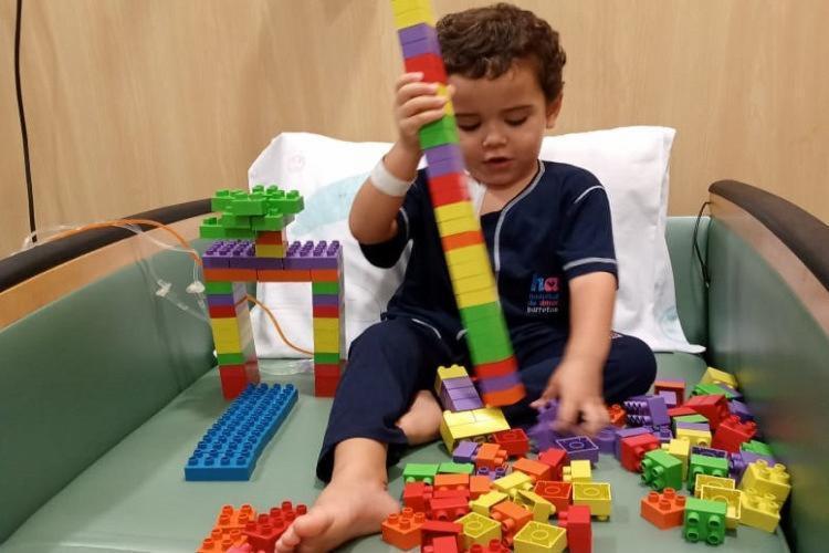 O pequeno Gu precisa de uma medula compatível para alcançar a cura | Foto: Arquivo Pessoal - Foto: Arquivo Pessoal