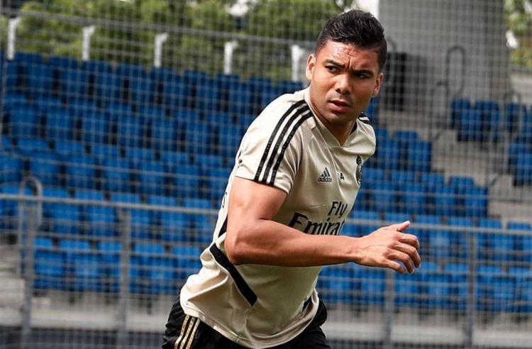 Casemiro e Real Madrid tinham inicialmente firmado um vínculo de seis anos que se encerraria em meados de 2021   Foto: Reprodução   Real Madrid - Foto: Reprodução   Real Madrid
