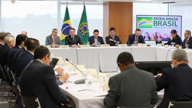 Reunião foi citada por Sergio Moro como prova de interferência de Bolsonaro na Polícia Federal - Foto: Marcos Correa | PR