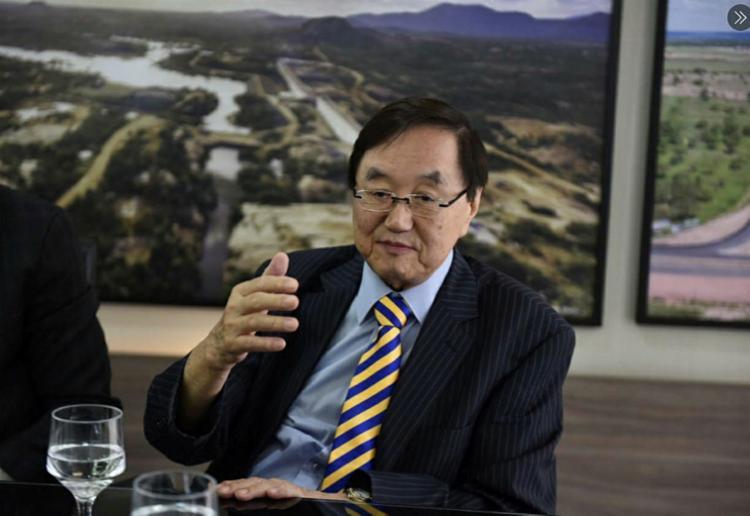 Charles Andrew Tang, presidente da Câmara de Comércio e Indústria Brasil-China | Foto: GOV-RN | Twitter - Foto: GOV-RN | Twitter