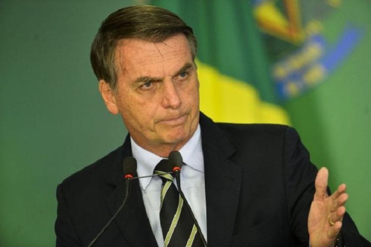 Nas imagens, Bolsonaro cita perseguições à sua família pela PF   Foto: Divulgação   Agência Brasil - Foto: Divulgação   Agência Brasil