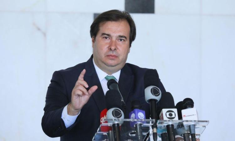 Rodrigo Maia Maia disse que a MP é polêmica, mas não cabe a ele decidir sobre uma possível devolução do texto - Foto: Najara Araújo | Câmara dos Deputados